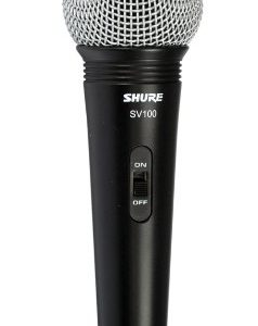 """Shure SV100-W Multi-Purpose Microphone with XLR-1/4"""" Cable"""